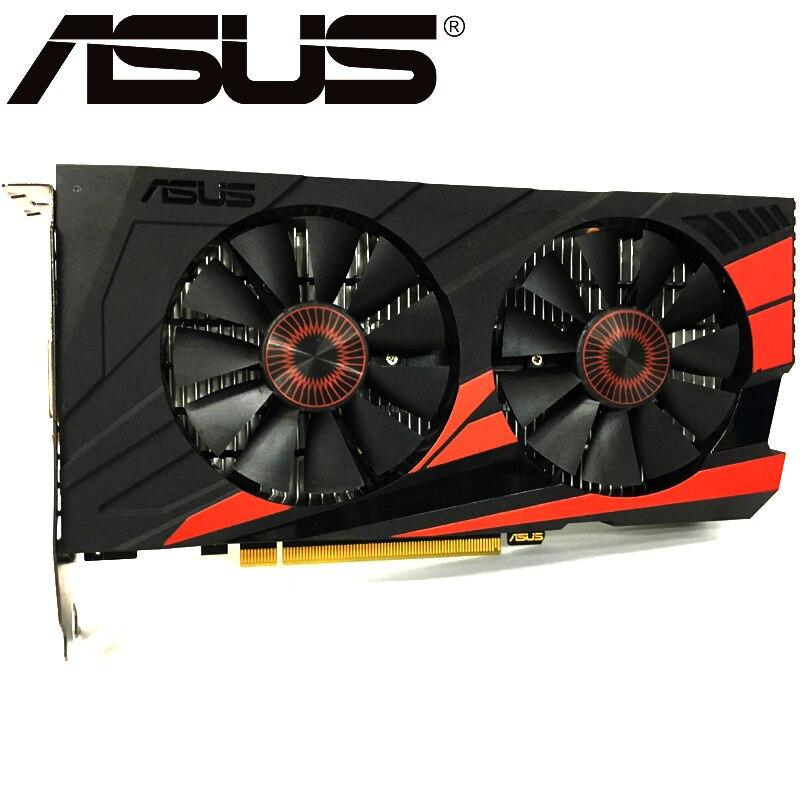 Видеокарта ASUS, оригинал GTX950, 2 ГБ 128 бит GDDR5 графические платы для nVIDIA, видеоадаптеры Geforce GTX 950, б/у, для игр 1050 750 TI-1