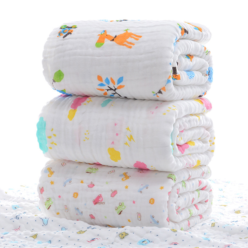 Baby Blanket Swaddle Muslin Newborn Wrap For Child Kids Boys Girls Bedding Bath Towel Cotton Stroller Cover Infant Swaddling