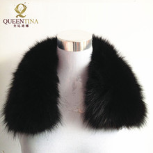 Hot Sale 2018 Scarf Stylish Womens Real Fur Collar Genuine F