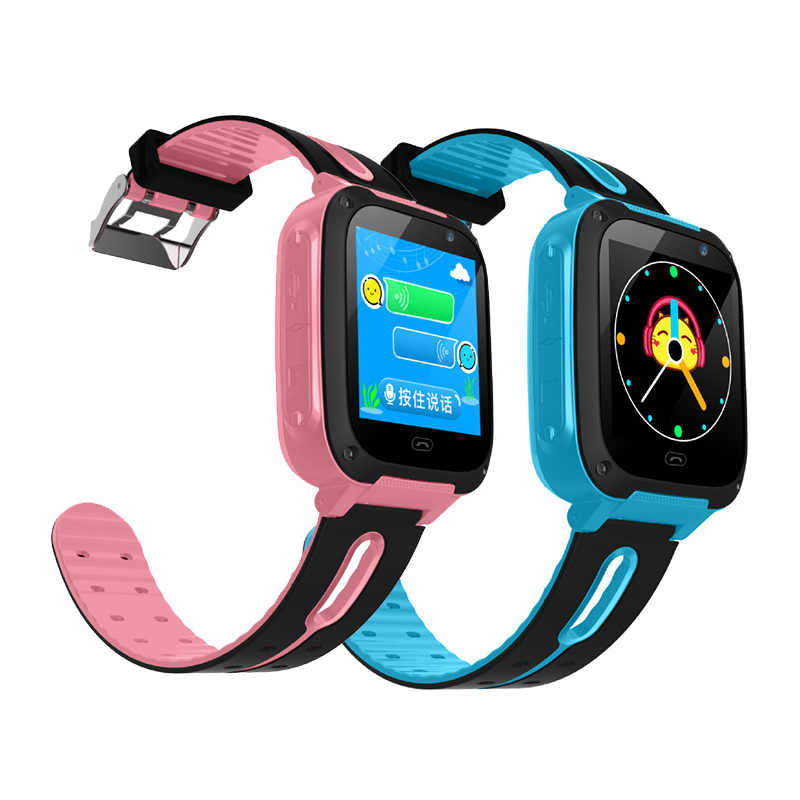 Smart Watch Kids Touch Screen GPS Positioning Children's Watches SOS Call Location Anti-Lost Reminder Watch Children Clock