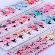 10 pcs of Lovely Yorkie hair bows / pins