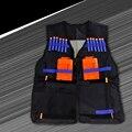 Тактический Жилет ж/Хранения Карман для Nerf N-Strike Elite Team Подарки Для Детей