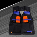 Tactical Vest w/Storage Pocket for Nerf N-Strike Elite Team Gifts For Kids