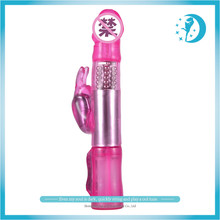 New Arrival Rotation Rabbit Dildo Vibrator 12 speeds Vagina Dual Vibrator Massager Sex WomenToy Waterproof Erotic Sex Product