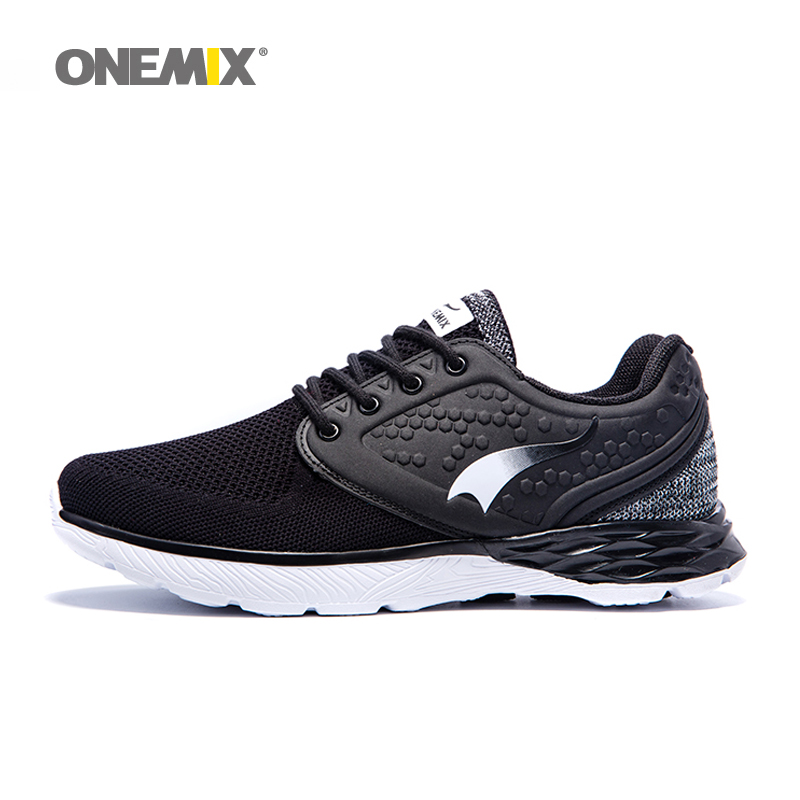 ONEMIX Men sneakers athletic sport running male shoes breathable man trainers mesh vamp for outdoor sports jogging walking shoes onemix 2017 men s running shoes women sports sneakers light walking shoes breathable mesh vamp anti skid outdoor sports sneakers