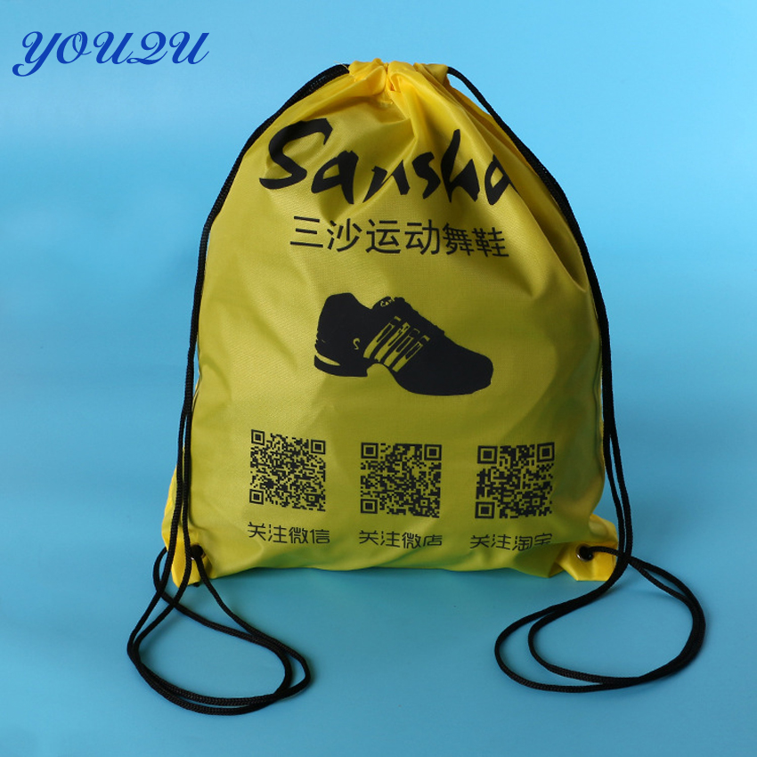 Custom Drawstring  Bag Non Woven Drawstring Shopping Bag Recycle  Drawstring Bag With Logo Printing