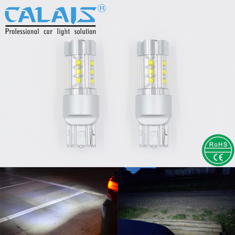 Car Lights Automobiles & Motorcycles Strong-Willed Car Led 1156 3156 7440 T20 T25 Ba15s Automotive Reverse Reversing Backup Light Lamp Cree Chip 100w 12v 24v 2pcs Calais Bulbs Promoting Health And Curing Diseases