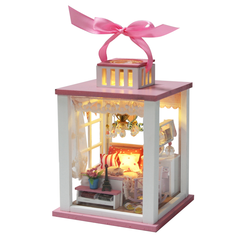 Doll Furniture For Sale Part - 28: Hot Sale DIY Doll House Wooden Miniatura Doll .