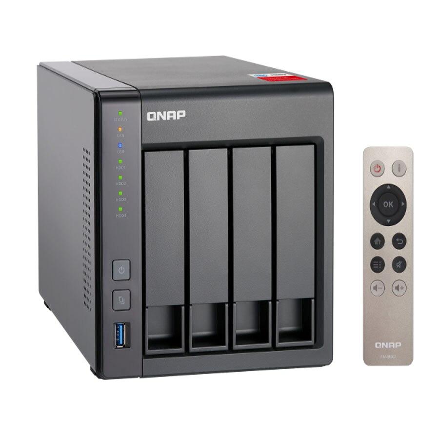 QNAP nas TS-451 + 2g 4-bay diskless nas, nas server nfs netzwerk storage-cloud-storage, 2 jahre garantie