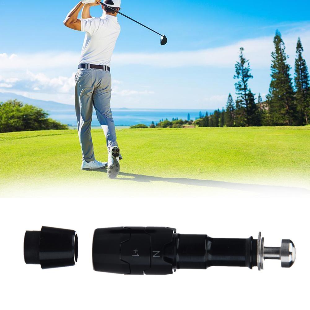 Black Aluminum Golf Shaft Adapter Sleeve Replacement Tips Size 0.335 0.350 For Callaway Big Bertha 815 Driver Golf Accessories