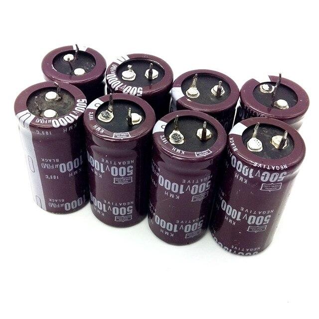 5 pièces/lot nouveau condensateur électrolytique en aluminium dorigine 450v 1000uf 35*60MM 1000UF 450V KMH IC