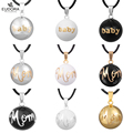 "Fashion Jewelry Multifarious Angel Caller Pendant ""Baby"" Or ""Mom"" Harmony Chime Bola Ball Pregnant Women Long Pendant Necklaces"