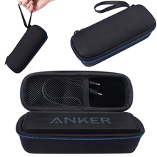 New Case For Anker SoundCore A3102 AK-A3102011 DKnight Magic Box I and Bluetooth Speaker System Storage Box with Carabiner Clip