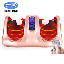 HFR-8802 Wireless Intelligence Acupressure Slimming Insoles Infrared Electric heating compression shiatsu Foot Massager