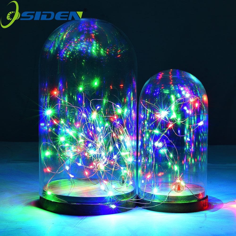 String Light 1-10m Warm White LED Copper Wire Craft Bottle Fairy Valentines Wedding Decoration Lamp Pary Outdoor Battery Powered