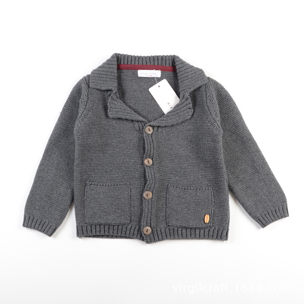 Wholesale Cardigan Sweater For Boys Turn-down Collar Toddler Baby Boys Sweater Jacket Outerwear Coat 5 Pieces RT214 модель машины mini cut 1 43 944 boxter