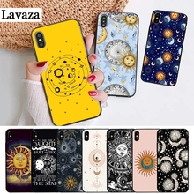 Lavaza Sun Moon Stars Colorful Cute Silicone Case for iPhone 5 5S 6 6S Plus 7 8 11 Pro X XS Max XR