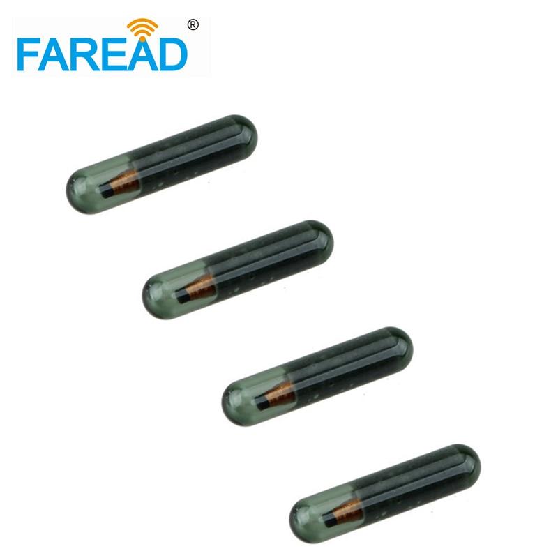 X10pcs 125KHz RFID Chip 3*13mmTransponder EM4100/EM4102/EM4200