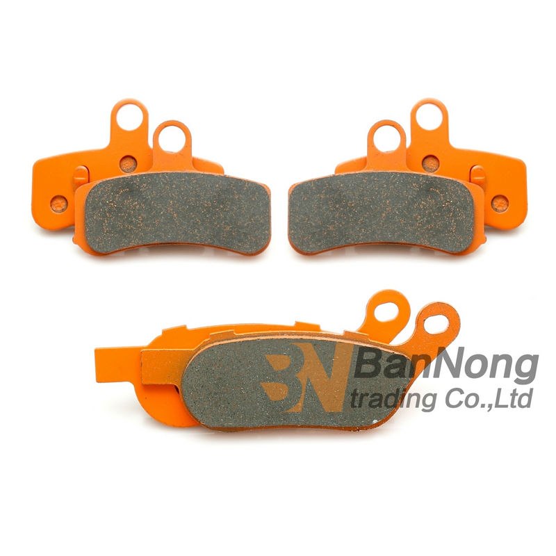 ФОТО Free shipping motorcycle Front&Rear brake pads set For Harley Davidson FXDF Fat Bob (Cast wheel) 2008-09-10-11-12-2013