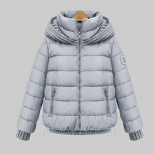 Winter Duck Down Jacket Women 2015 New Knitted Hooded Sweater Coat Female Campera Mujer Invierno Plus Size Cape Parkas YB825