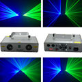 TOP Sales Double 2 color 360mW Green&Blur DMX laser equipment DJ disco light stage lighting show