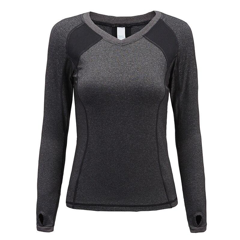 Eshtanga yoga shirts Frauen Herbst langarm Sport T Hemd Fitness Gym Lauf shirt Quick Dry yoga Shirts freies verschiffen