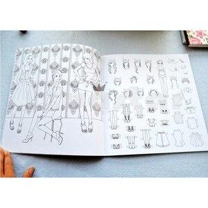 Image 5 - Koreaanse Droom Winkel volwassen kleurboek Voor Stress Schilderij Tekening Boek cahier coloriage adulte libro para colorear livro
