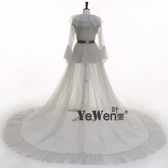 07387d240 Online Shop Sex Ivory Women Sleepwear See Though 2019 Wedding ...