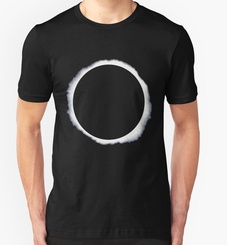 NEW Danisnotonfire circle eclipse Black LOGO MEN WOMEN T-SHIRTS S-5XL
