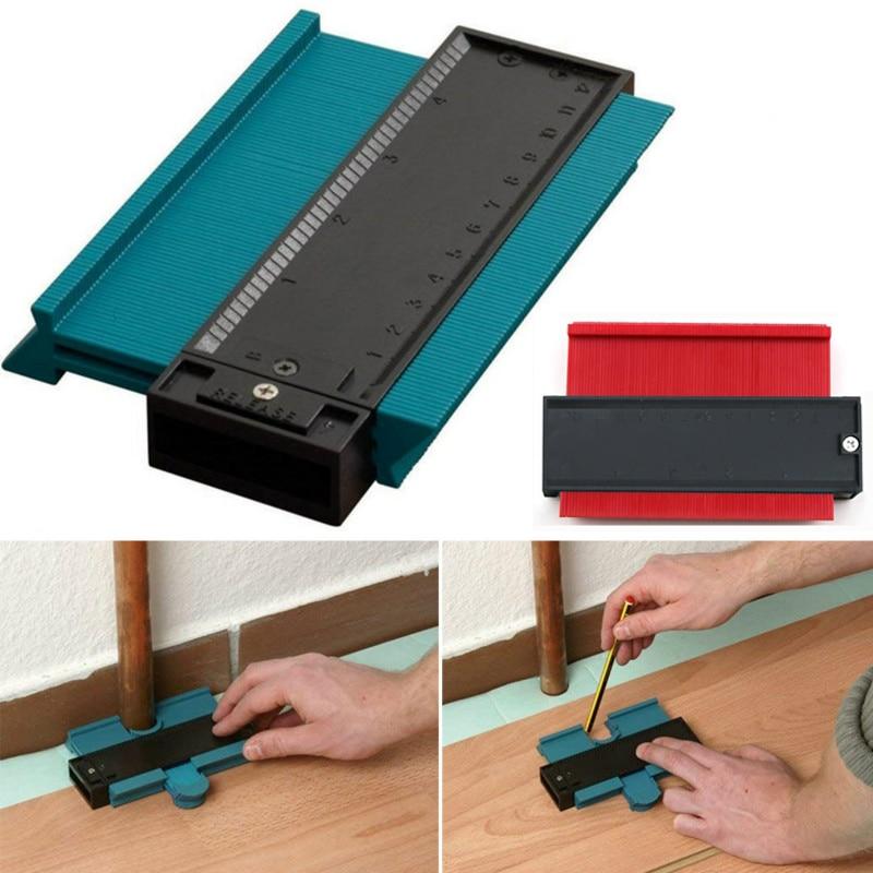 Contour Profile Copy Angle Ruler Measurement Woodworking Gauging Wood Marking Tiling Laminate Tiles Measuring Tool Protractor