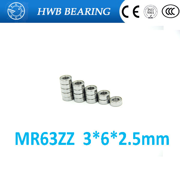 цены Low-speed bearings MR63ZZ L-630ZZ WA673ZZA 3x6x2.5 mm MR63 ZZ helicopter model car available