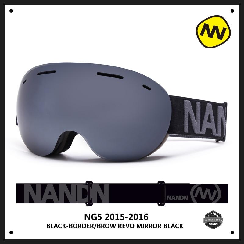 Prix pour NANDN NH8001 Grand Sphérique Lentille Double Couches Anti Brouillard UV400 Ski et Snowboard Lunettes Escalade Grande Lunettes Hommes Femmes