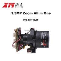HD 1. 3MP (960 P) auto foco 2.8 ~ 12mm X4 Zoom 1/3