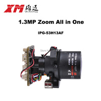 HD 1 3MP 960P Auto Focus 2 8 12mm X4 Zoom 1 3 CMOS AR0130 Hi3518C
