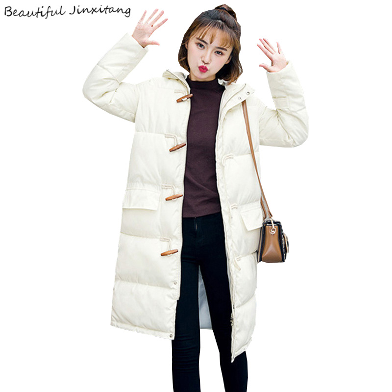 Winter Jacket Women 2017 Europe and America Winter Coat Women New Fashion Slim thin Students Hooded Womens Winter Jackets SJ52A8 point systems migration policy and international students flow