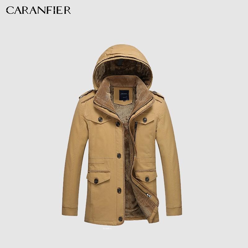 ZOEQO NEW thick longer plus size coats Men jacket Winter Overcoat Men s trench jacket Male