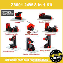 Z8001 8 In 1 Mini Draaibank Kit/8 In 1 Normale Type Draaibank/24W,20000Rpm 8in1 Machine Kit8 in 1 lathemini lathethe lathe