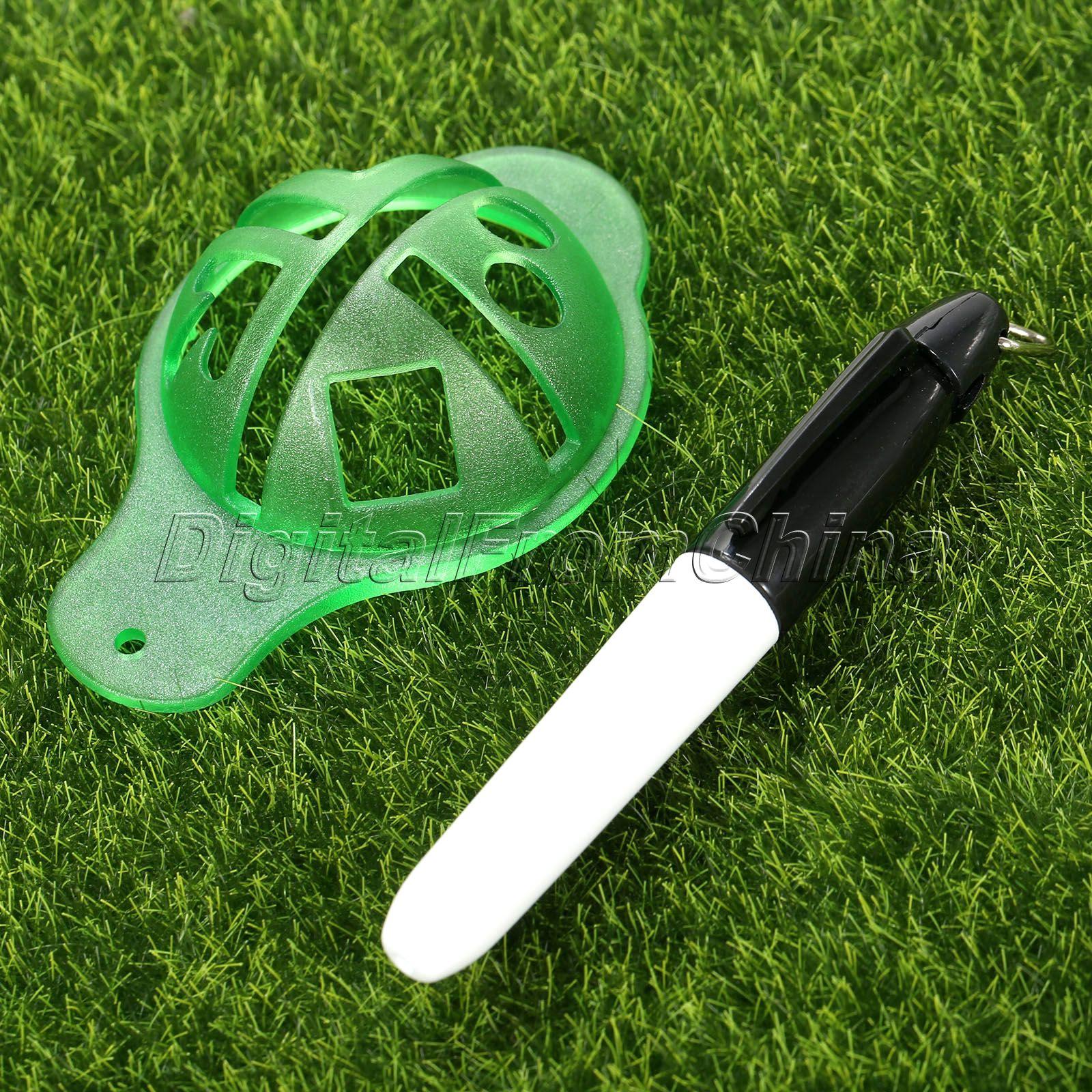 gohantee Golf Ball Liner Marcator Pen Ball Strokes Golf Formare SIDA - Golf - Fotografie 5