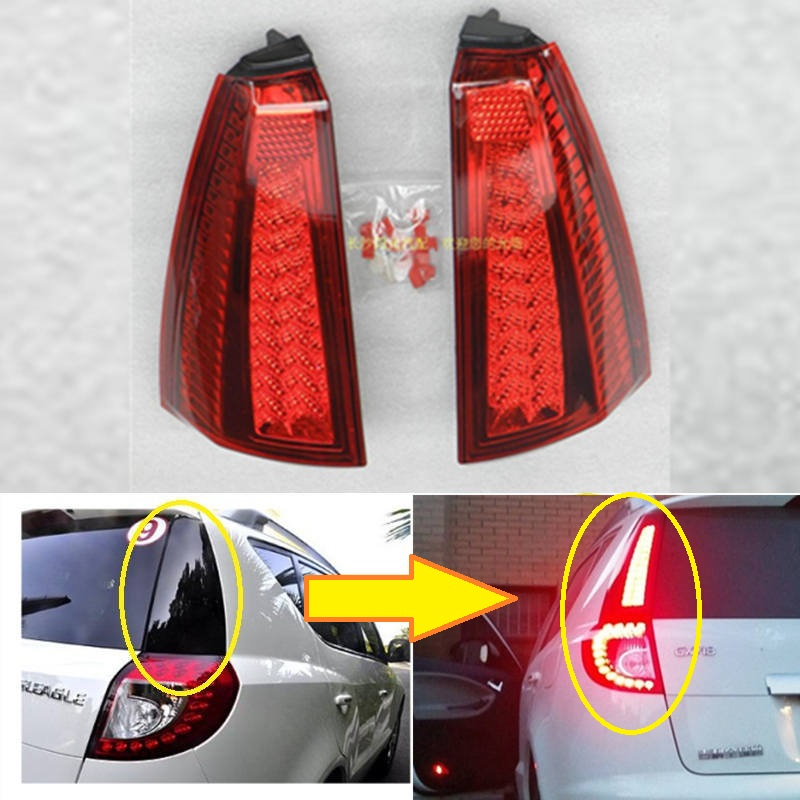 Geely Emgrand X7 EmgrarandX7 EX7 SUV ,Car taillights,Rear lights, Brake light,Column light assembly geely gc7 emgrand x7 emgrarandx7 ex7 suv car timing chain repair kit