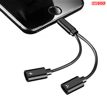2 In 1 Phone Charging Aux Usb Cable for Iphone