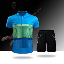 Sportswear Men T-Shirt Badminton-Clothes Short-Sleeve Train Tennis NM75 Quick-Drying