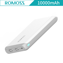 Authentic ROMOSS Arrow10 Energy Financial institution 10000mAh Exterior Battery Financial institution Quick Charging USB Charger for Cell Telephones and Tablets