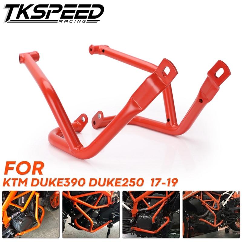 Moto Crash Bar pour KTM DUKE390 DUKE250 DUKE 390 250 cadre Protection moteur garde pare-chocs moto accessoires 2017 2018