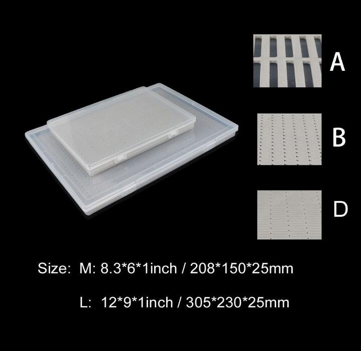 Aventik Super Large Capacity Clear Lid Slim Fly Boxes Competition Fly FISHING Boxes Two Sizes Holds up to 800 Flies коробка для мушек snowbee easy vue competition large