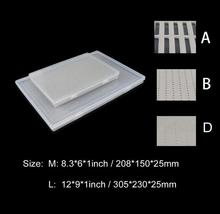 Aventik Super Large Capacity Clear Lid Slim Fly Boxes Competition FISHING Two Sizes Holds up to 800 Flies