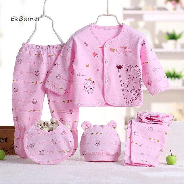 E   bainel 5 pz set neonato set abbigliamento ragazzi delle neonate vestiti  di marca 0b909edbf53