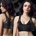 Nova Chegada X-BRA aptidão das mulheres à prova de choque sutiã postura corrector brassiere bras workout frete grátis fio preto nu alta qualidade