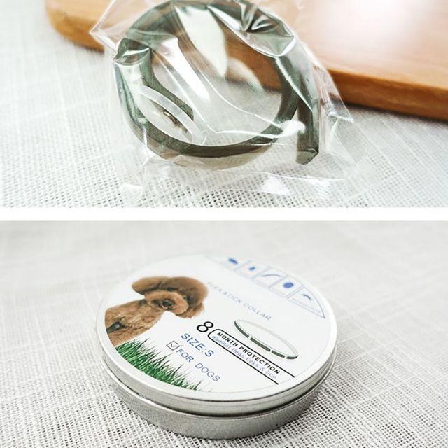 2049 olio Essenziale Anti pulci/repellente per zanzare Collari pet PVC Anti Pulc
