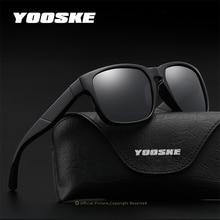 YOOSKE Brand Design Men Polarized Sunglasses Women Classic Retro Driving Sun Gla