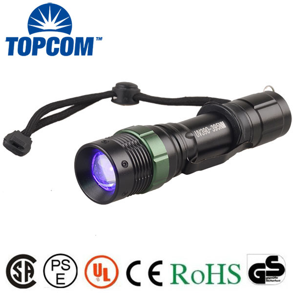 [Free Ship] Led uv scorpion flashlight W